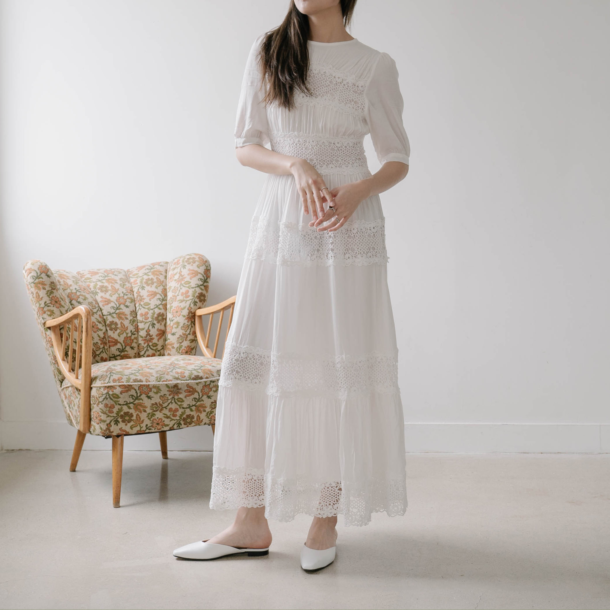 Every Need Want Day Long Dress Korea Free Shipping Renor Classic Mood From
